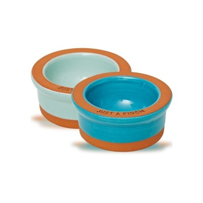 JAMIE OLIVER TERRACOTTA PINCH POTS SET OF 2
