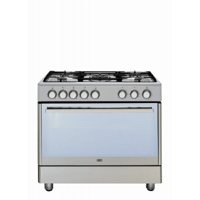 Defy DGS161 900mm 5 Burner Stainless Steel Gas Electric Freestanding Oven