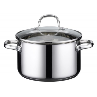 ELO 24cm High Casserole With Glass Lid