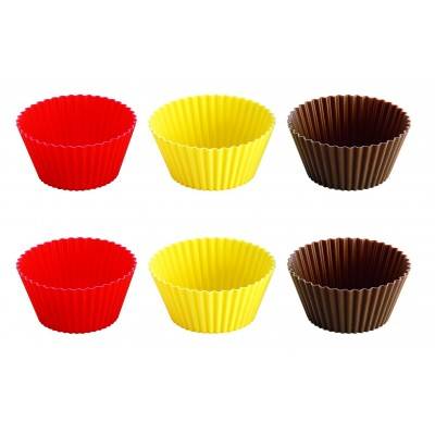 Tescoma Silicone Baking Cups 6 Pieces 5cm