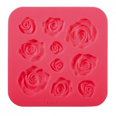 Tescoma Silicone Moulds Little Leaves