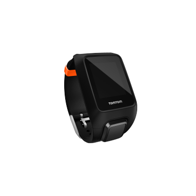 TomTom Outdoor Watch Strap Black/Orange
