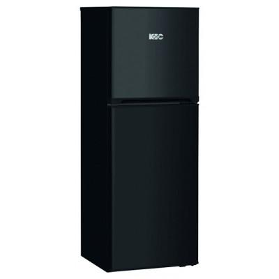 KIC KTF 518/1 BL 170L Black Top Freezer Fridge