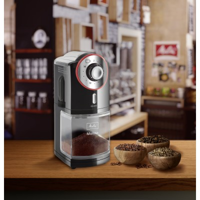 Melitta Molino Electric Coffee Bean Burr Grinder