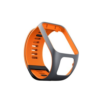 TomTom Runner 3/Spark 3 Strap (Grey/Orange)