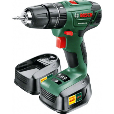 Bosch 06039A310P PSR 1800 LI-2 | 18 V Lithium-ion Cordless Two-speed Combi