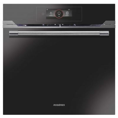 Rosieres 60cm Black/Inox Mulitifunction WiFi + BT Sublime Premium Oven
