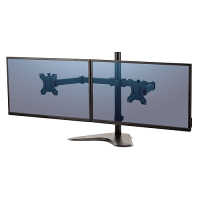 Fellowes 8043701 Professional Series Free Standing Dual Horizontal Monitor Arm