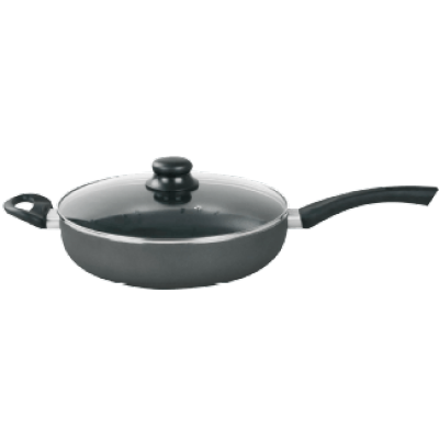 ELO FRYING PAN 28CM WITH GLASS LID