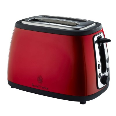 Russell Hobbs Red Heritage 2-Slice Toaster