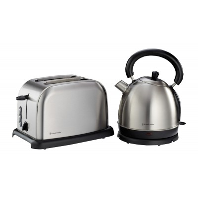 Russell Hobbs 2-Piece Brushed Stainless Steel Pack