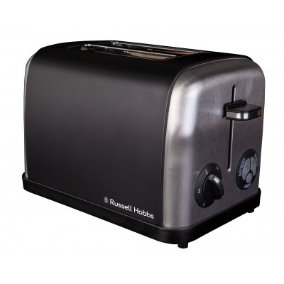 Russell Hobbs 860208 Black 2 Slice Toaster