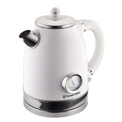 Russell Hobbs 860971 1.7L White Vintage Kettle