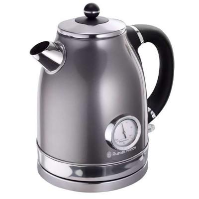 Russell Hobbs 860978 1.7L Grey Vintage Kettle