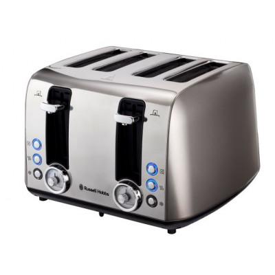 Russell Hobbs 860992 4 Slice Grey Vintage Toaster