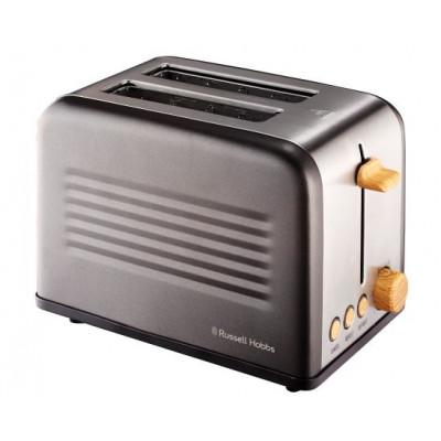 Russell Hobbs 861006 2 Slice Rustic Metal Tin Toaster