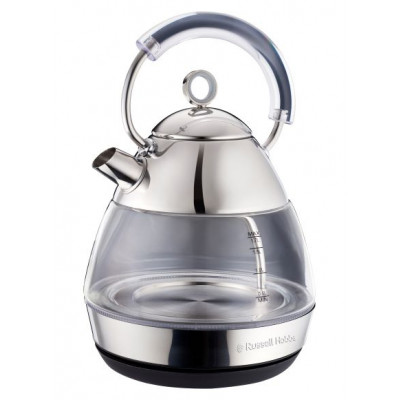 Russell Hobbs 861258 1.7L Pyramid Glass Kettle