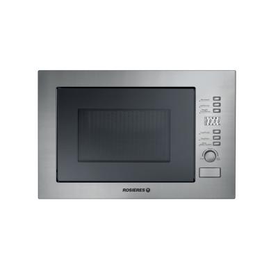 Rosieres 60cm Black/Inox 28L Microwave + Grill