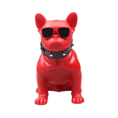 Aiwa ABR-000R Red French Bulldog Bluetooth Speaker