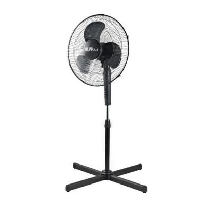 Alva ACS200 40cm Plastic Pedestal Fan Black