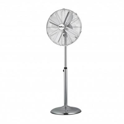 Alva ACS201 40cm Metal Pedestal Fan Silver
