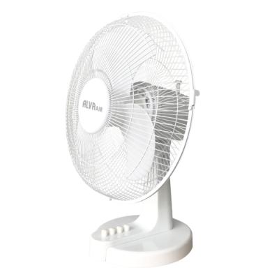 Alva ACS205 30cm Plastic Desk Fan White
