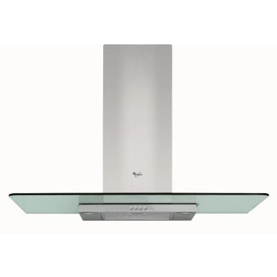 Whirlpool 900mm Glass Chimney Extractor