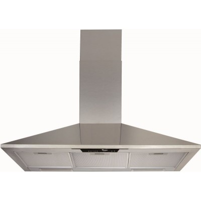 Whirlpool 900mm Stainless Steel Chimney Extractor