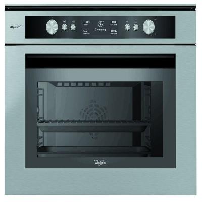 Whirlpool AMW 599 IXL 600mm Inox 6th Sense Steam Built In Oven