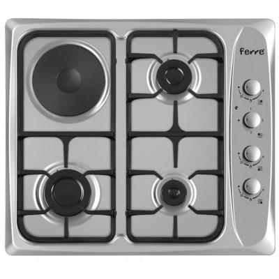 Ferre B-631.CS 3 Gas+1 Electric Plate 60cm Hob