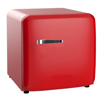 SnoMaster  BC-1 48ltr Counter Top Red Retro fridge