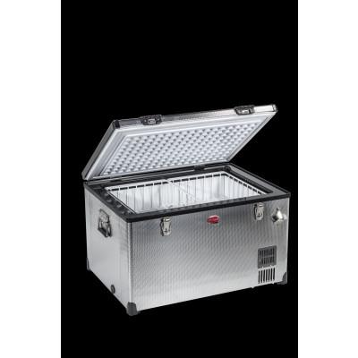 SnoMaster Low Profile Stainless Steel Dual Fridge/Freezer .