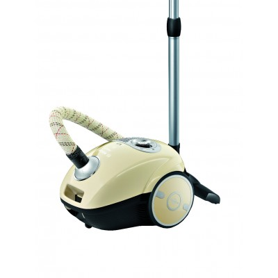 Bosch Cream Canister 2200W Vacuum Cleaner Bagged