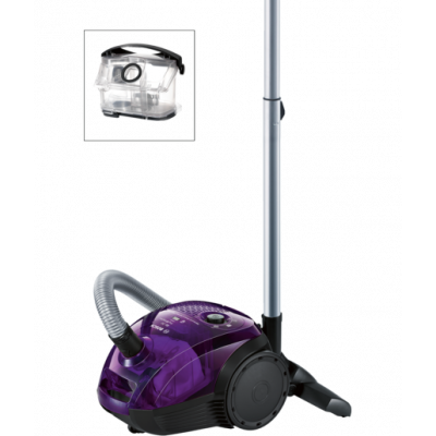 Bosch BGN21700 Bag&Bagless Purple Vacuum Cleaner