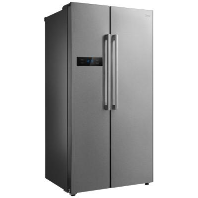 Midea 527L Net A+ Side By Side Fridge & Freezer - Stainless