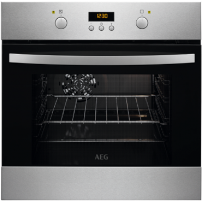 AEG BOB35702XV 600mm Stainless Steel Eye Level Oven