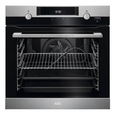 AEG BPK556220M 60cm Stainless Steel Steam Bake Oven