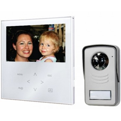 "DigiTech 7"" Colour Video Doorphone Touch Panel"
