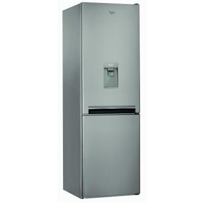 Whirlpool BSNF 8101 OX AQUA 315L Freestanding Fridge Freezer with Water Dispenser