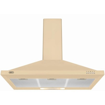Defy 900mm Premium Cream Chimney Extractor