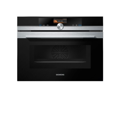 Siemens CM656GBS1 iQ700 Built-in Compact Microwave Oven Graphite