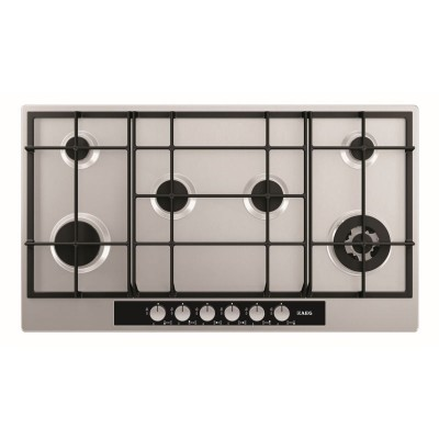 AEG 900mm 6 Burner Gas Hob