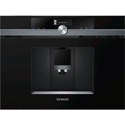 Siemens CT836LEB6 Black Built In Fully Automatic Coffee Machine