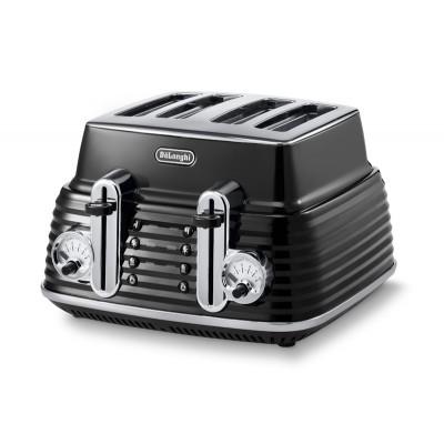 Delonghi Scultura Toaster Black Velvet