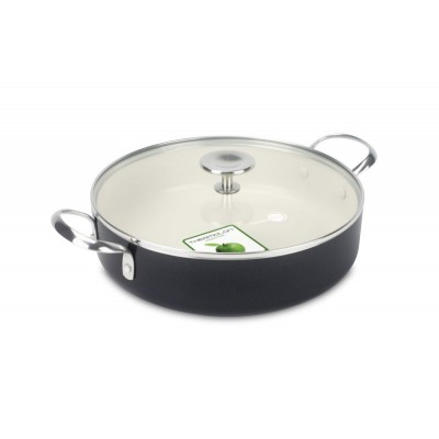 Greenpan 28cm Covered Skillet 2 Handles 4.25L