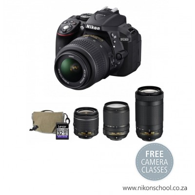 Nikon Twin Bundle D5300 Digital SLR Camera