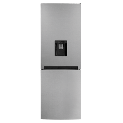 Defy DAC449 226L Satin Metallic C300 Eco WD M Combi Fridge Freezer