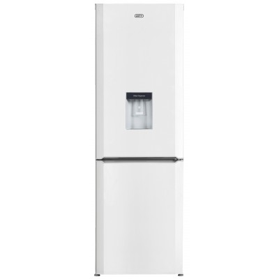 Defy 323L White Steel Combi Fridge