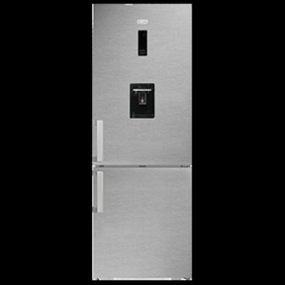 Defy DAC700 426L Satin Metallic C580 Eco E WD M Combi Fridge Freezer