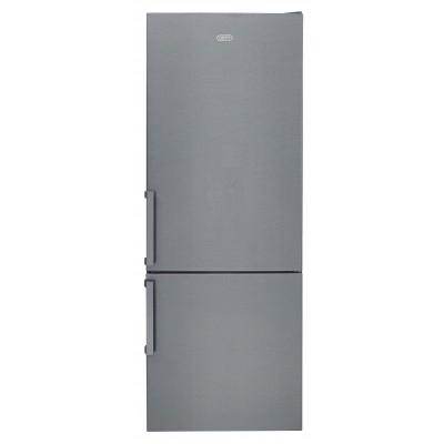Defy DAC701 428L Satin Metallic C580 Eco M Combi Fridge Freezer